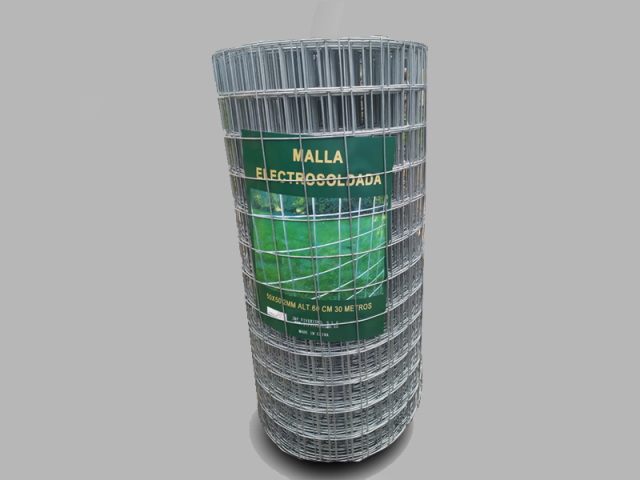 MALLA ELECTROSOLDADA-0'40 M. ALT., CUADRO 50x50, A