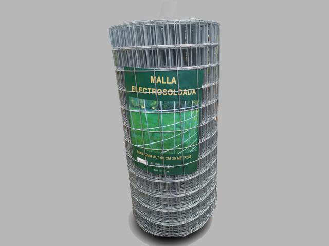 MALLA ELECTROSOLDADA-1'20 M. ALT., CUADRO 50x50, A